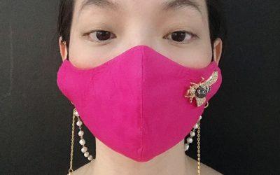 Malaysian artist Poesy Liang starts Pink Yakuza fashion line with Covid-19 accessories